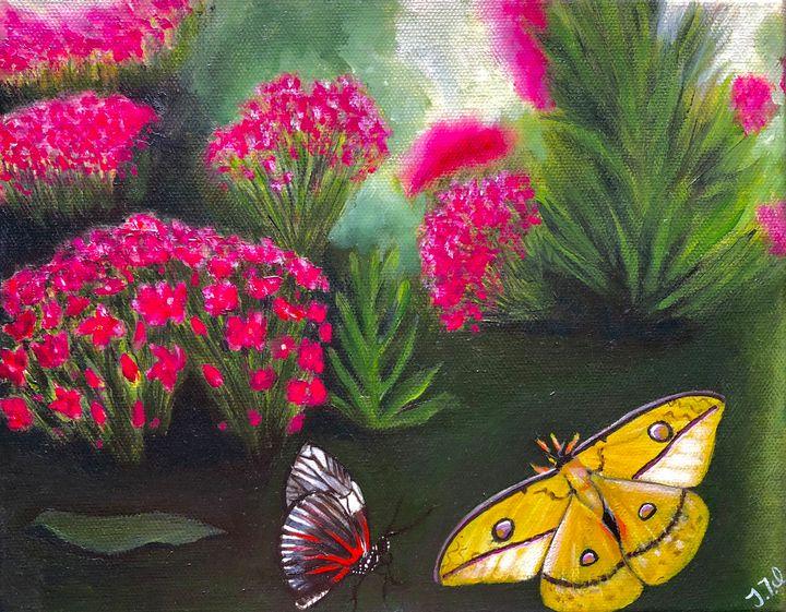 Vibrant garden - Vivid Expressions Art