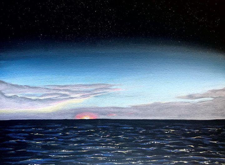 Ocean atmosphere - Vivid Expressions Art