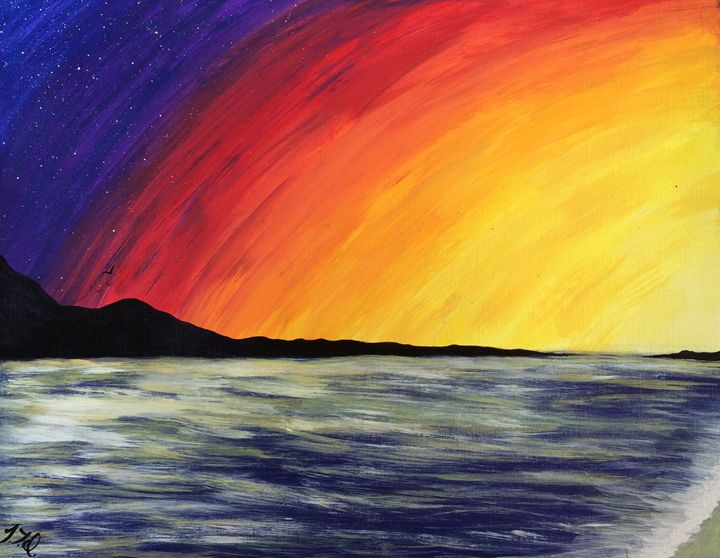 Island view - Vivid Expressions Art