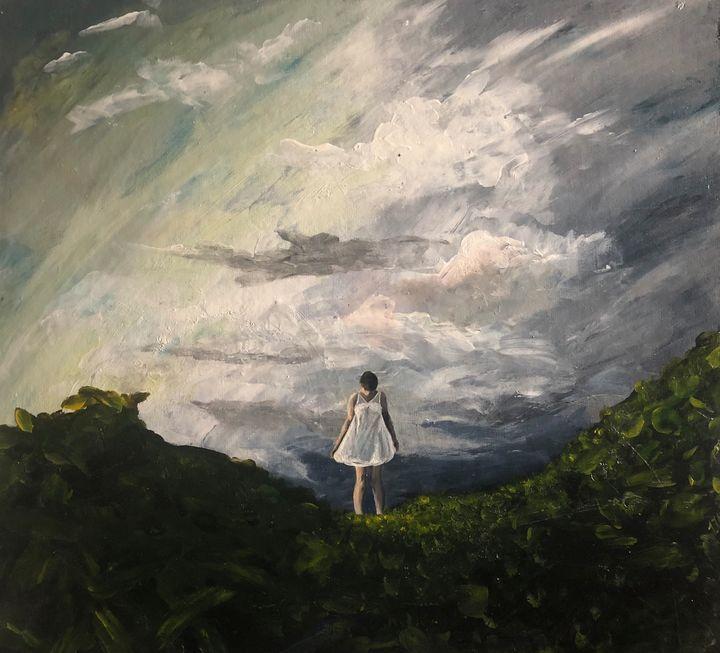 Building storm - Vivid Expressions Art