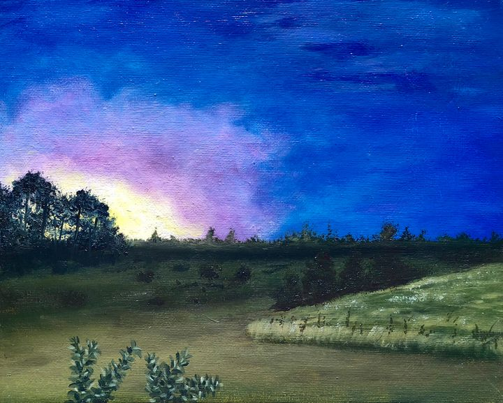 Southern sunset - Vivid Expressions Art