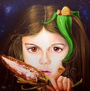 Rostro del Maíz (Rigo Art)