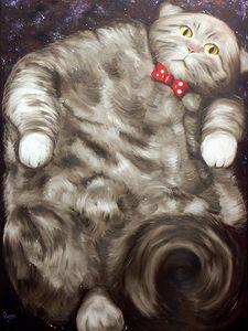 Gato Universo (Rigo Art)