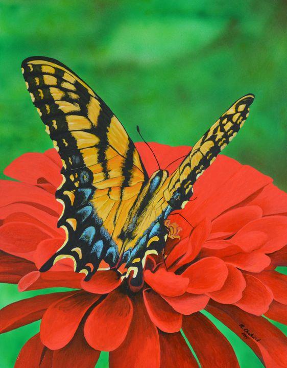 Butterfly - Monica Chadwick Fine Art