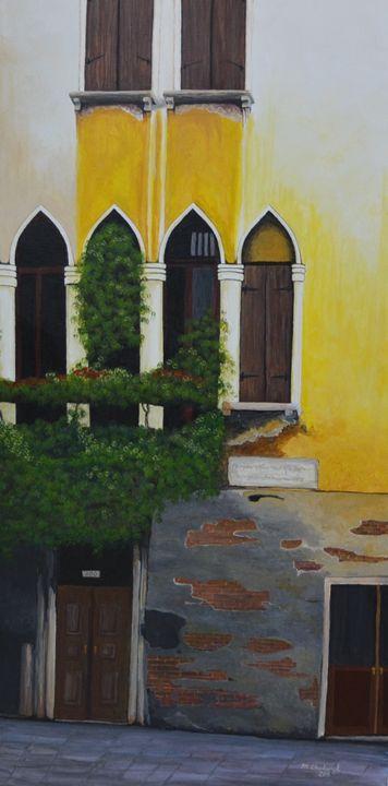 Street in Venice - Monica Chadwick Fine Art