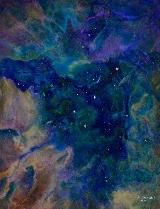 Nebula - Monica Chadwick Fine Art