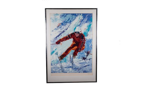 Downhill Racer Serigraph - Reloved Once More