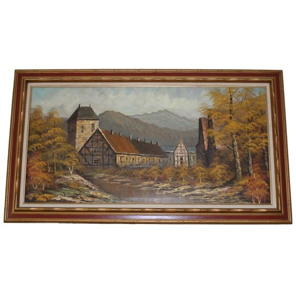 Mill in Autumn Forest - Reloved Once More