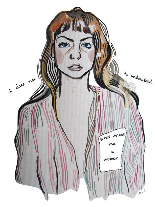 Angel Olsen - IC Illustration