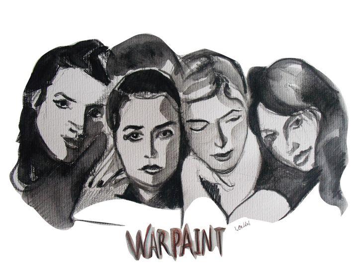 Warpaint - IC Illustration