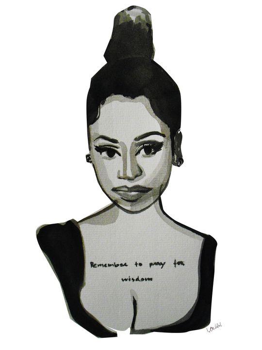 Nicki Minaj - IC Illustration