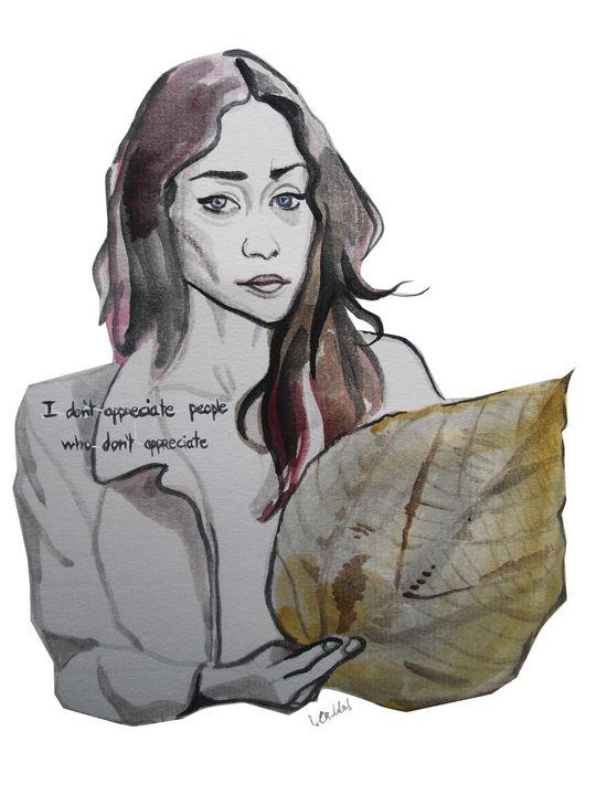 Fiona Apple - IC Illustration