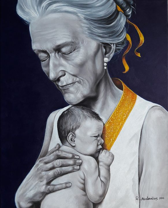 Old Lady - Surrealism