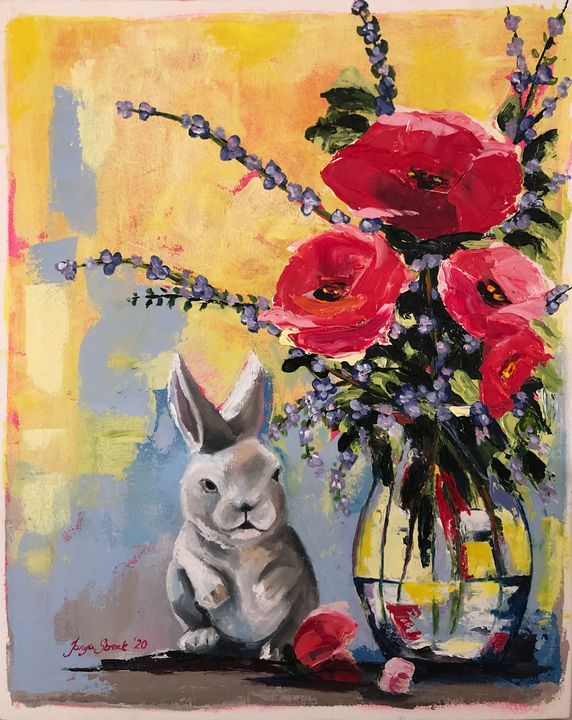 Rabbit Season - Tanya Streak Art