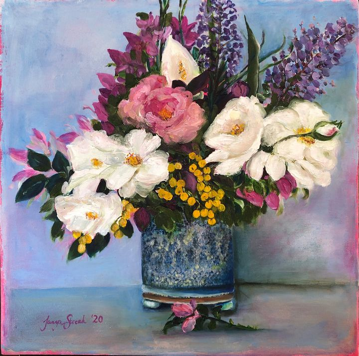 Winter bloom - Tanya Streak Art