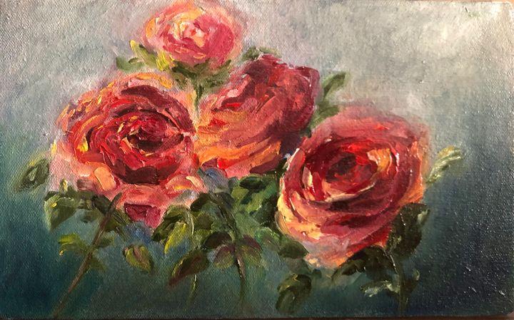 Roses - Tanya Streak Art