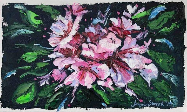Pretty Pinks in Bloom - Tanya Streak Art