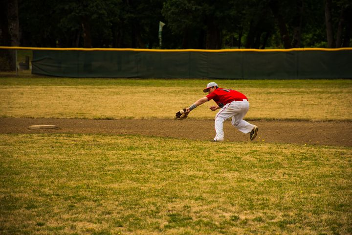 Infield Groundball #11 - Joshua Slate Photography