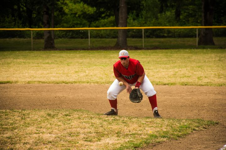 Infield Groundball #8 - Joshua Slate Photography