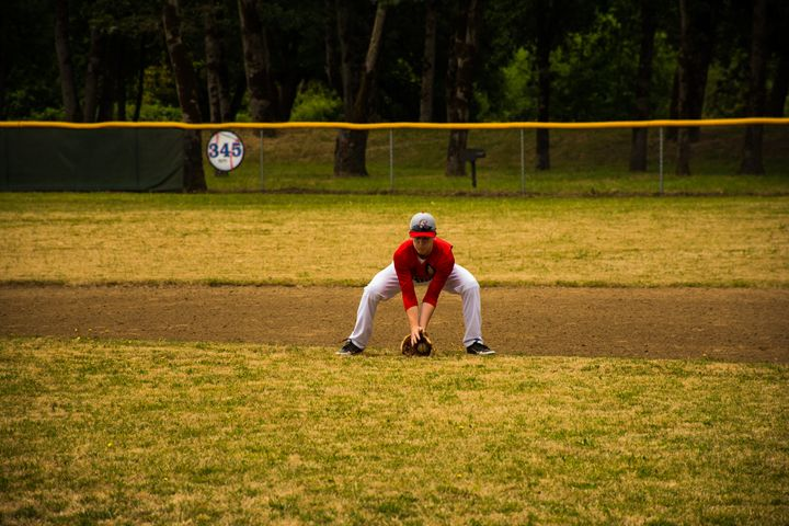 Infield Groundball #2 - Joshua Slate Photography