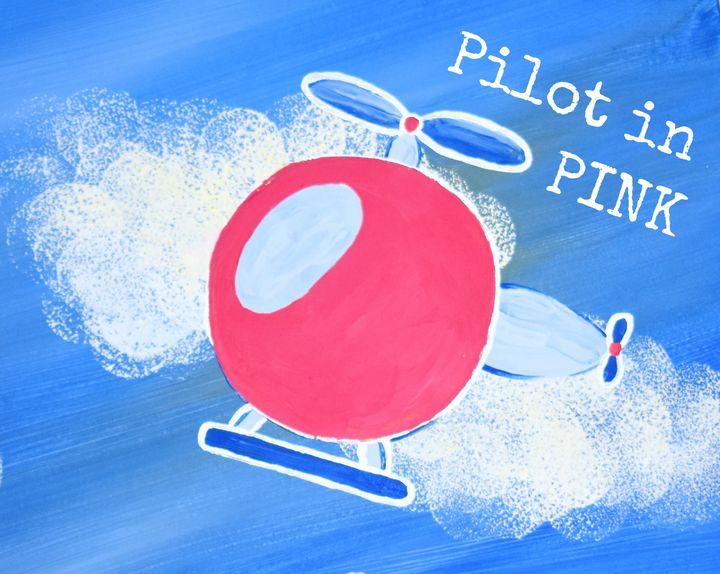 Pilot in Pink - Singer Fine Arts