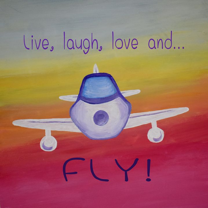 Airplane Fly Decor - Singer Fine Arts