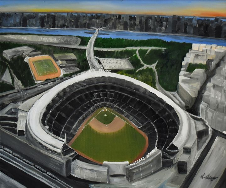 NYC Stadium View - Singer Fine Arts