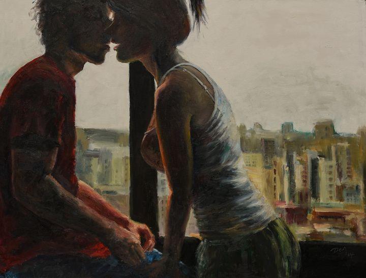 Morning kiss - Art & Friends