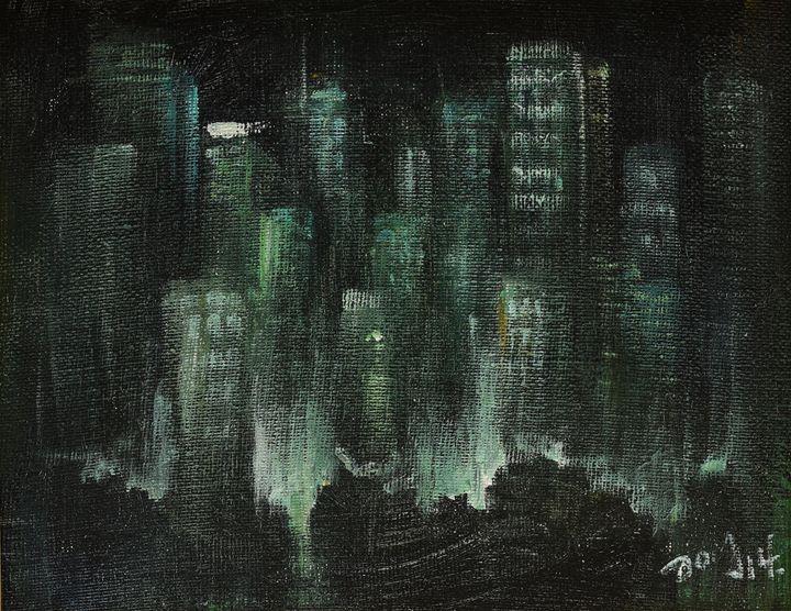 Night cityscape - Art & Friends
