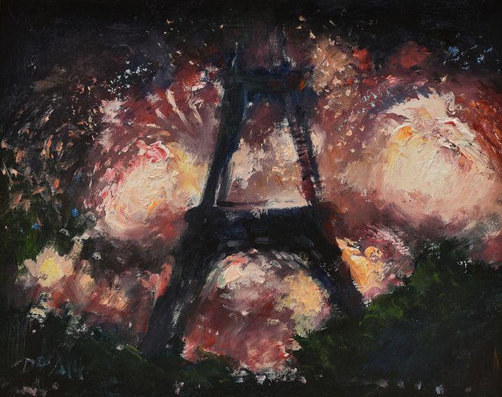 Eiffel tower - Art & Friends