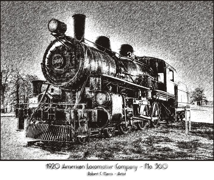 1920 American Locomotive No. 360 - Lion's Gate and Open Road Photography