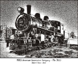 1920 American Locomotive No. 360
