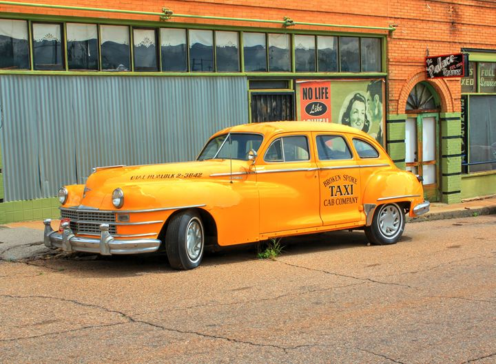 1948 Chrysler Taxi - Lion's Gate and Open Road Photography