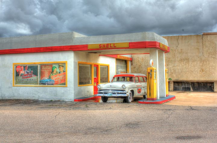 1954 Ford Station Wagon - Lion's Gate and Open Road Photography