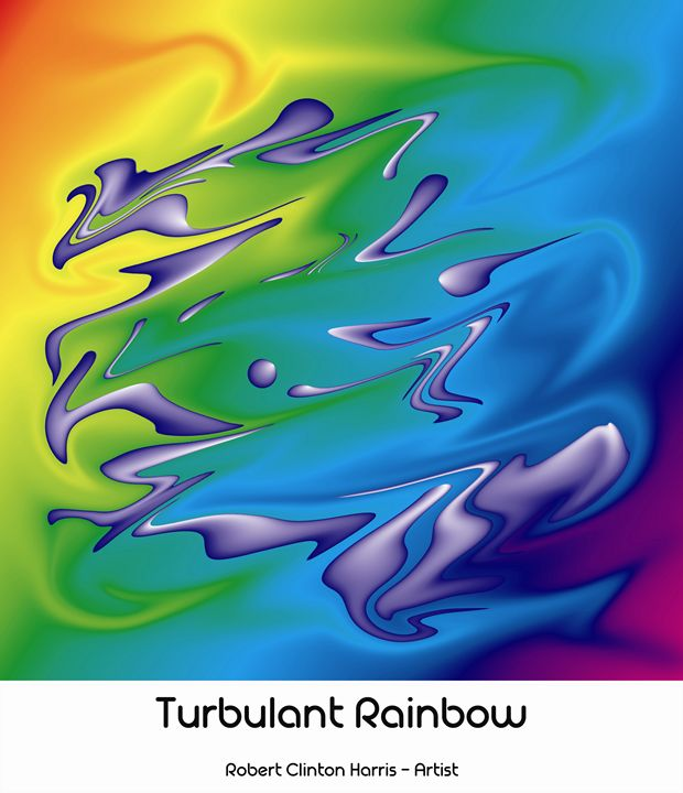 Turbulant Rainbow - Lion's Gate and Open Road Photography