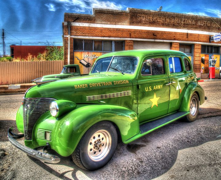 1938 Chevrolet Sedan - Lion's Gate and Open Road Photography