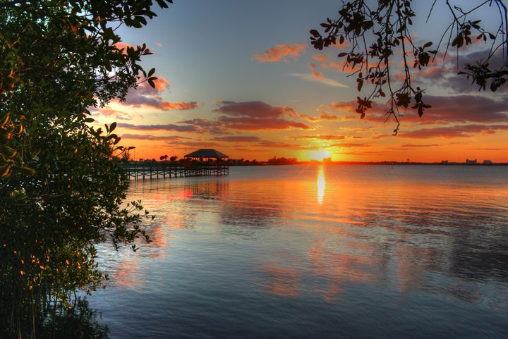 Florida Sunset - Lion's Gate and Open Road Photography
