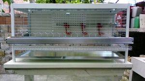 Aluminum cage for quail