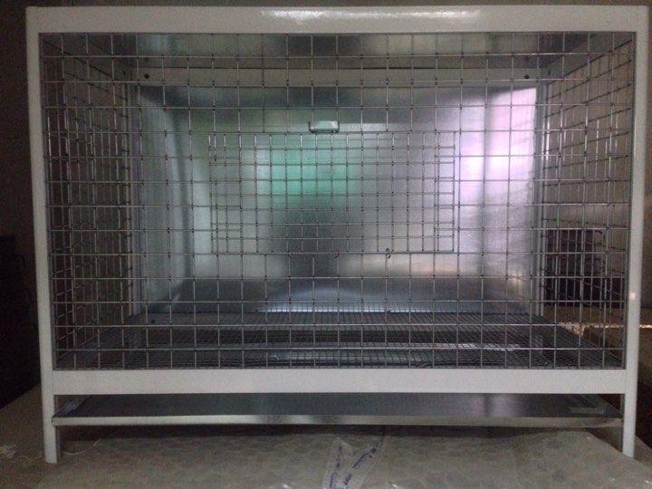 Aluminum pigeon cage - catrin
