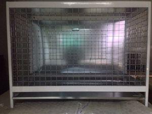 Aluminum pigeon cage