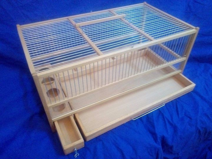 Quail Cage, Slide Out Tray - catrin