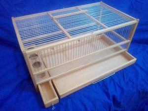 Quail Cage, Slide Out Tray