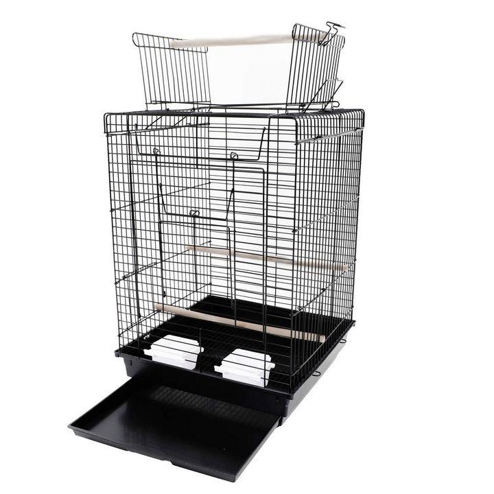 Bird Cage Pet Supplies Metal Cage - catrin
