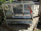 Aluminum cage for Chicken