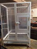 Aluminum cage for big parrots