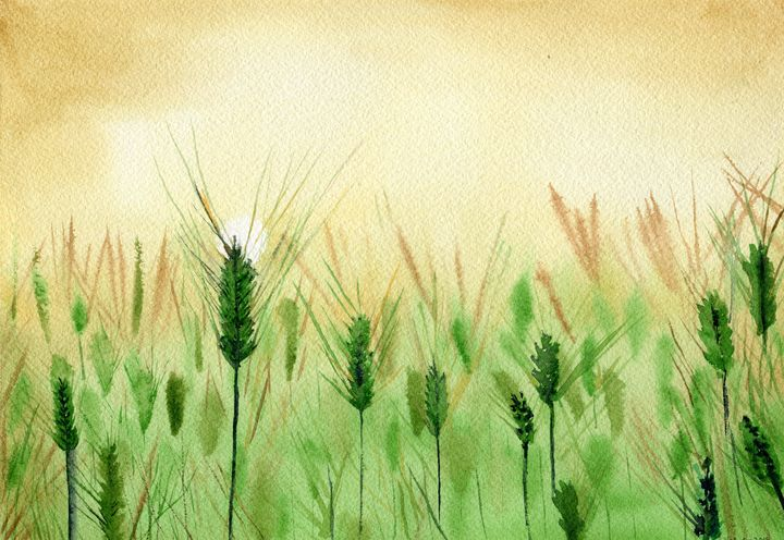 Barley... - Art Aroma by Mehak Mittal