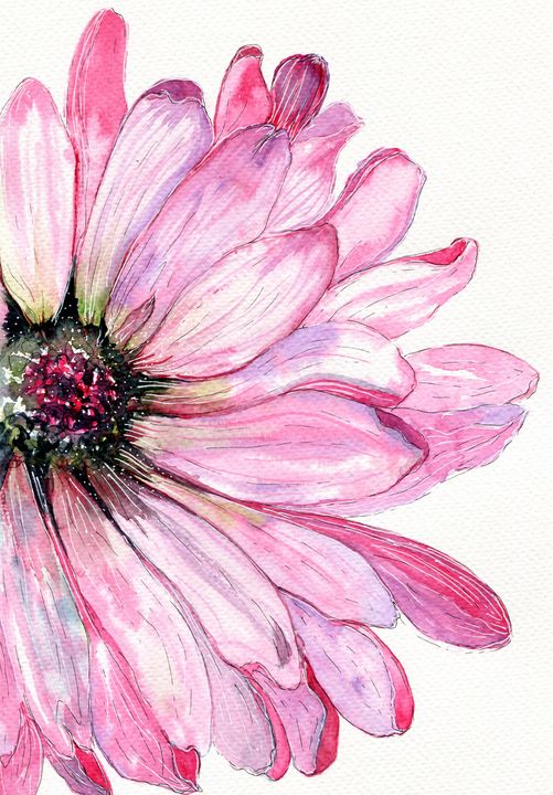 Pink - Art Aroma by Mehak Mittal