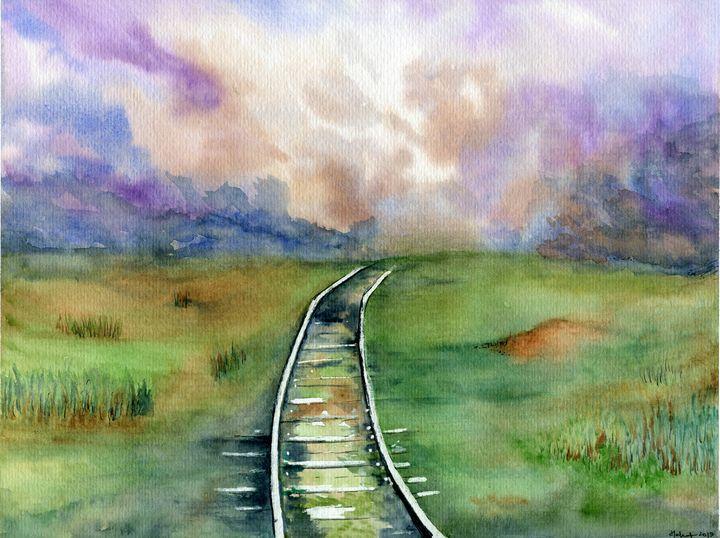 Tracks - Art Aroma by Mehak Mittal