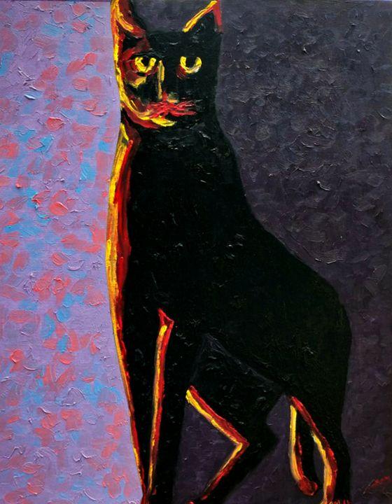 Black Cat - Almas Gallery