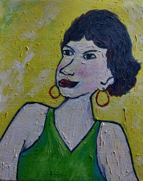 Fendi's Mother - Almas Gallery